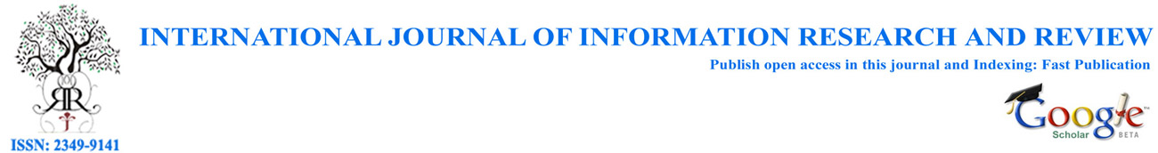 WELCOME TO IJIRR | The International Journal of Information